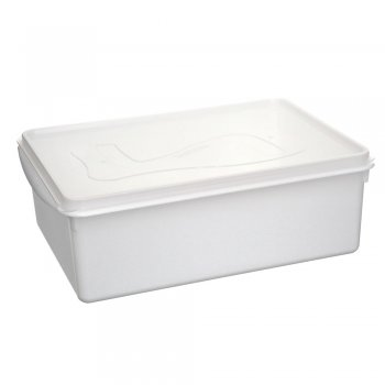 Caixa Organizadora Du Cheff 11 l Branca c/ tampa